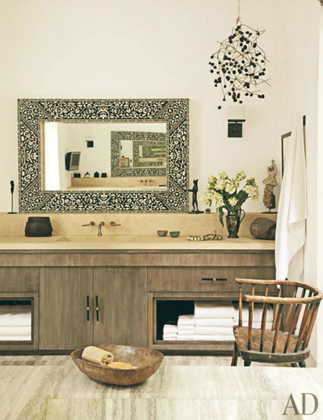 nature inspired home decor. Too many wood furniture can be monotonous  so break it up with other materials such as marble iron and brass choose tones that are not too similar to Nature inspired home decor tips from Ellen DeGeneres