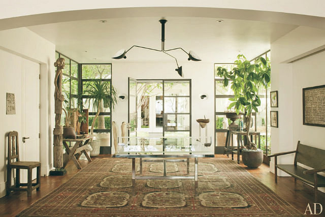 Nature Inspired Home Decor Tips From Ellen Degeneres Home Home
