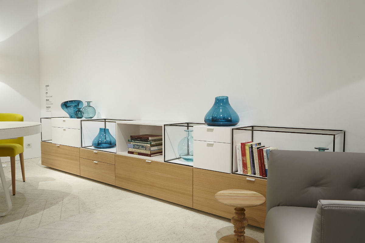 contemporary french furniture. Modren Contemporary Ligne Roset French Furniture Space Console With Contemporary Furniture