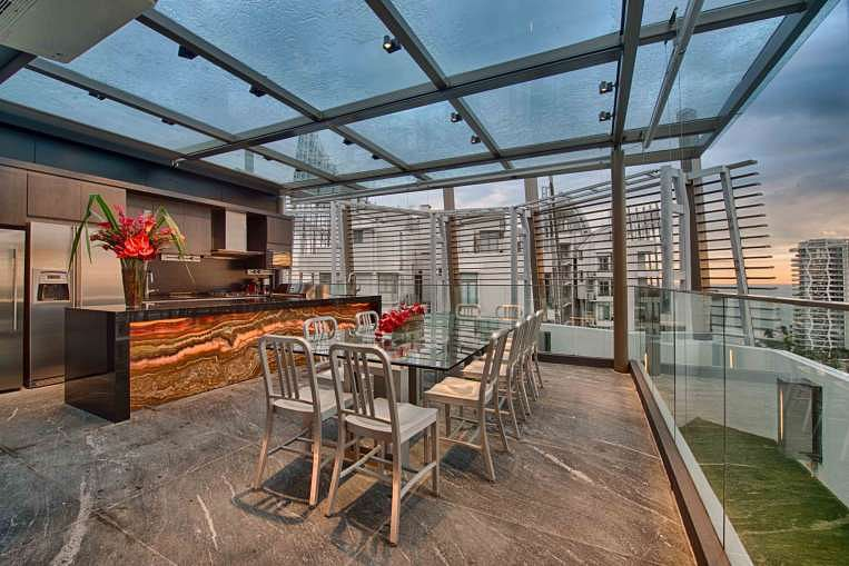 Tour A Gorgeous Sentosa Cove Penthouse Apartment Home
