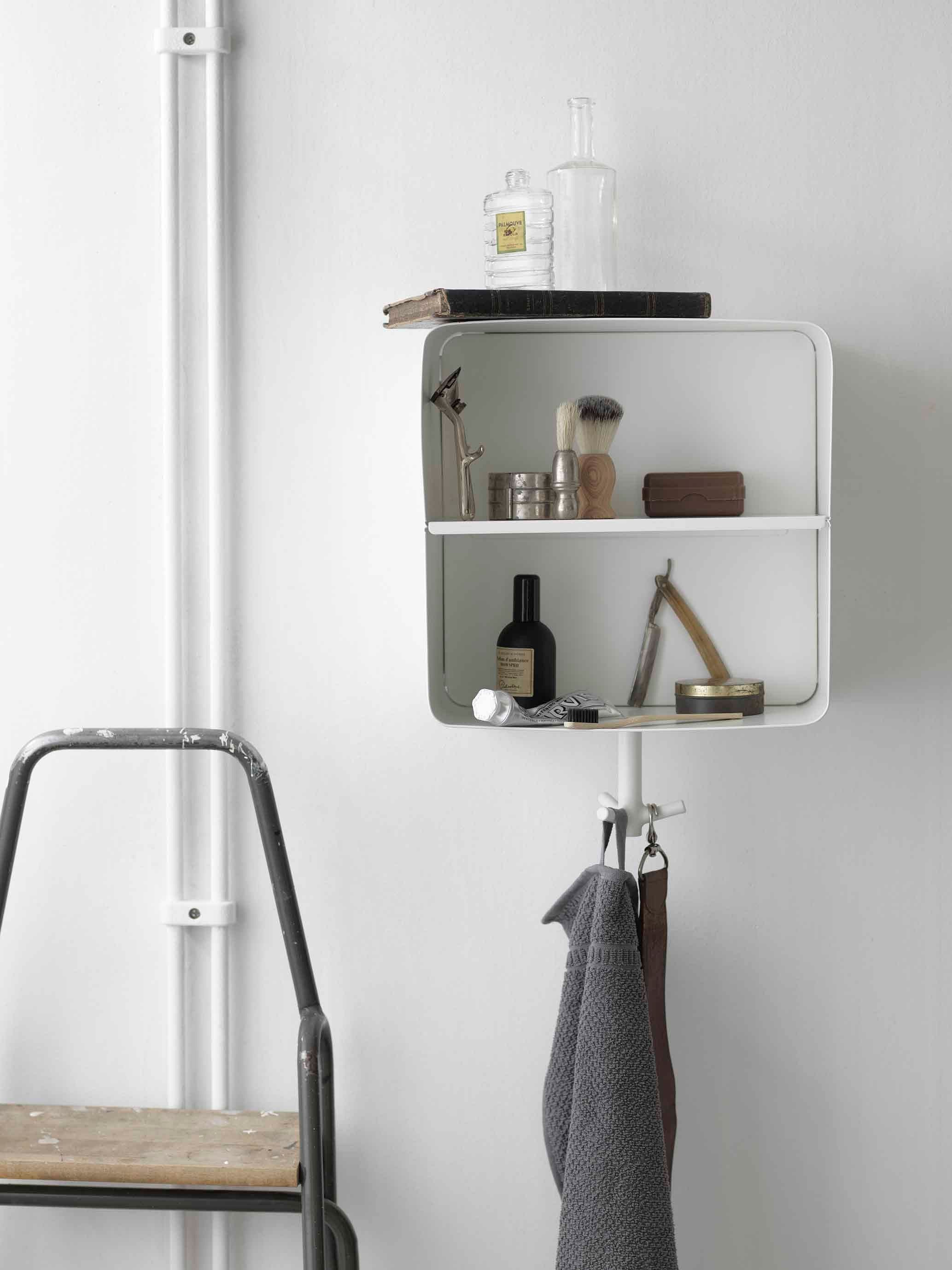 Wall mounted racks desks and shelves that save space and - Bathroom cabinets singapore ...