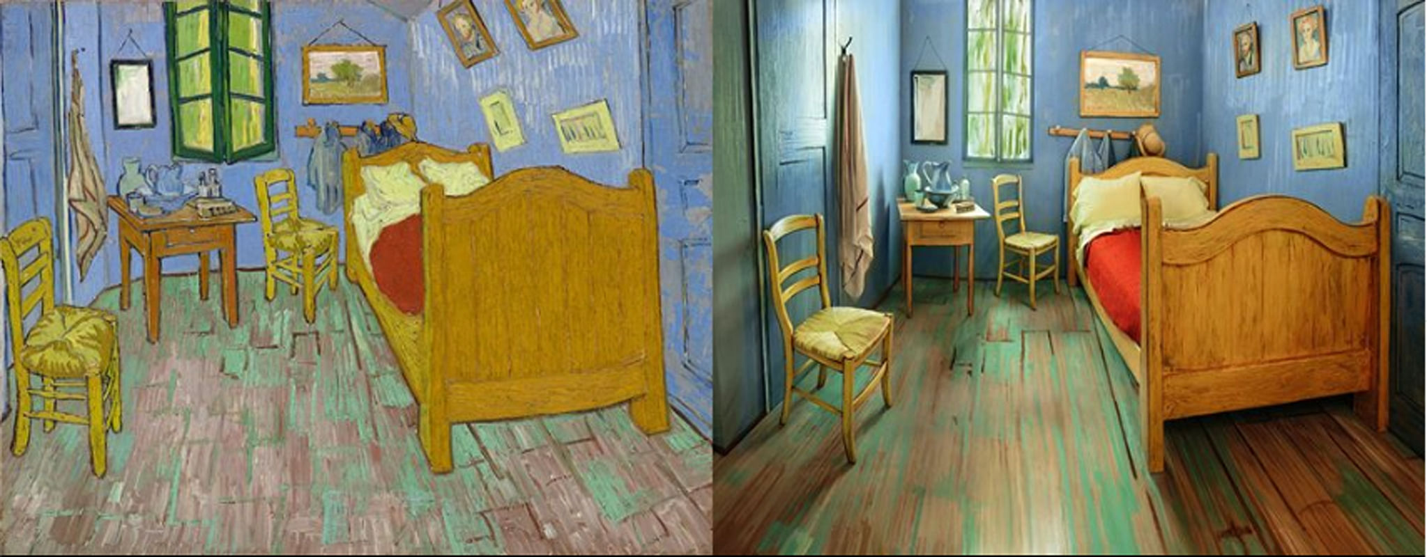 Rent on Airbnb a recreation of Vincent Van Gogh's famous ...