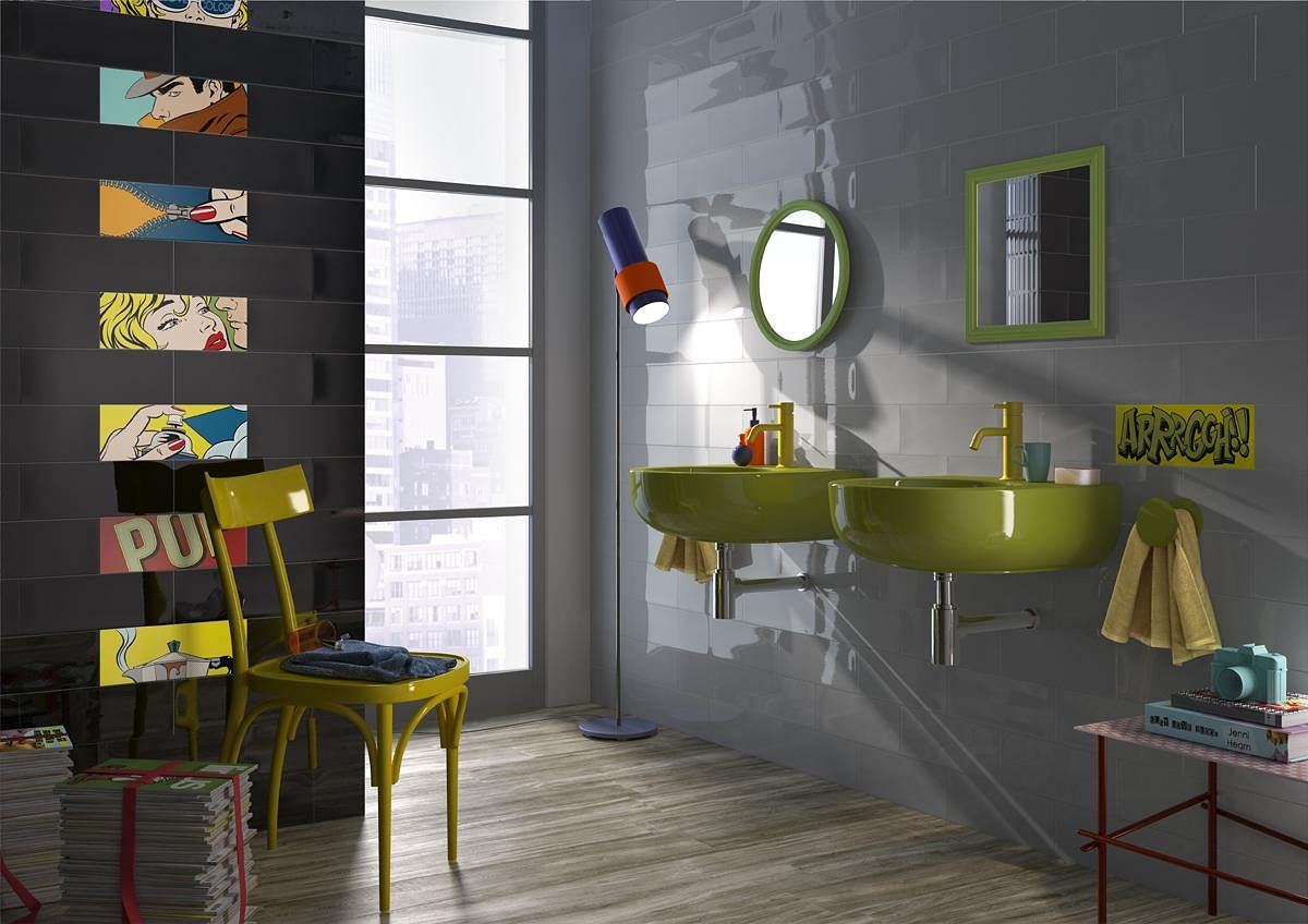 Trend Fun And Colourful Pop Art Inspired Materials For Your Home