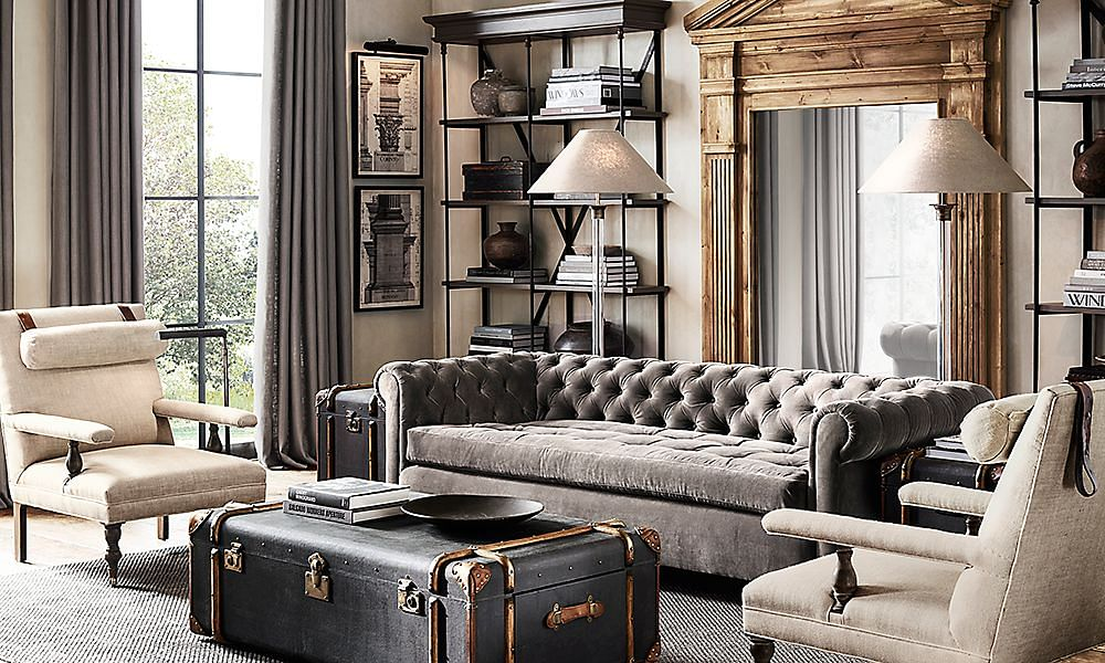 Living Room Design Ideas Swop Your Coffee Table For A Trunk Home Dec