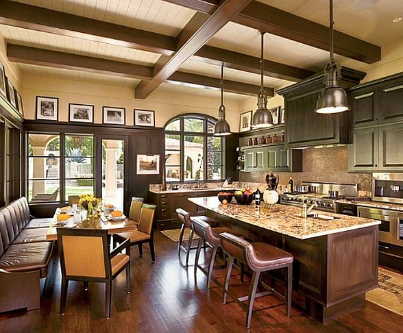 kitchen design ideas: 6 elements of a modern classic-style kitchen