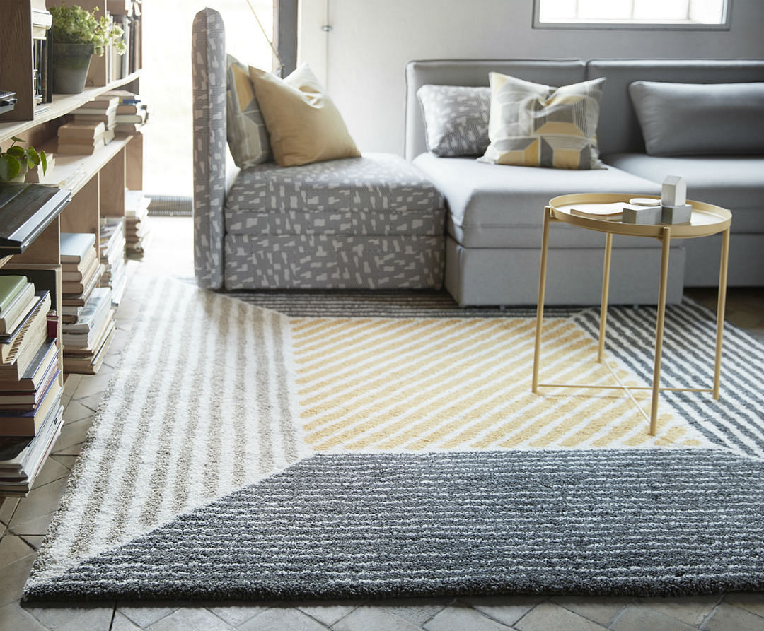 The Birket Rug 199 Is Dense And Thick With A Stylish Geometric Pattern