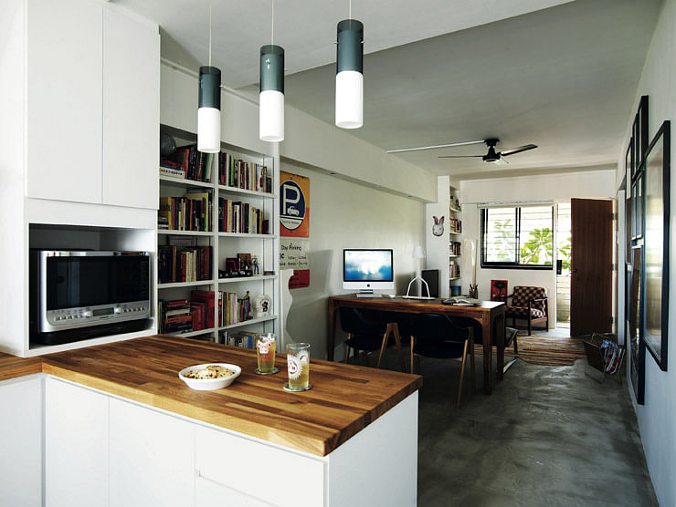 3 open-concept HDB flat homes with trendy looks | Home & Decor ...
