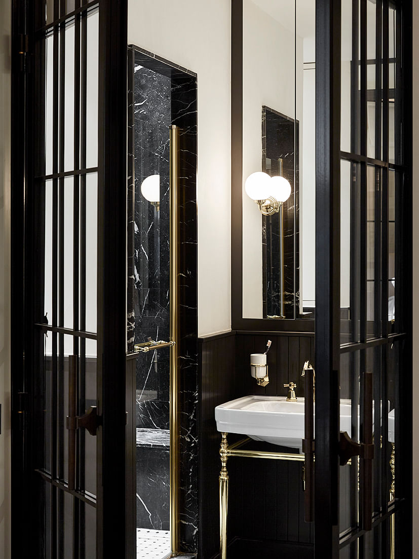 Ideas For A Glamorous Black And Gold Bathroom Home Decor Singapore