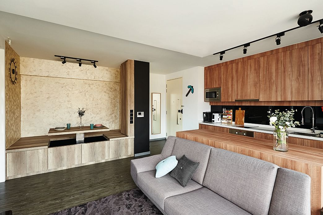 House tour small one room condo unit with big ideas home decor singapore - Studio unit interior design ideas ...