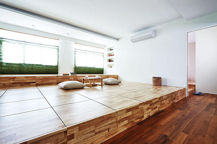 Floor Seating Living Room Small Spaces