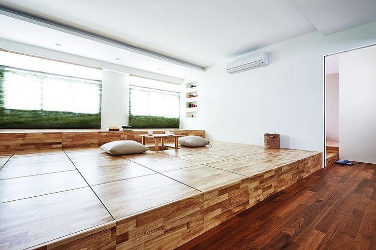 4 Trendy Homes Designed With Platforms Home Amp Decor