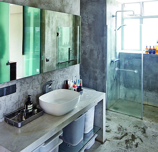 Concrete In The Bathroom Yay Or Nay Home Amp Decor Singapore