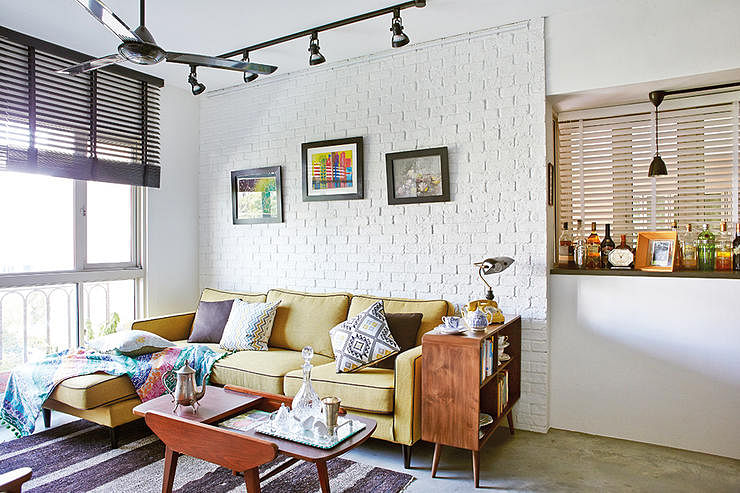 9 chic homes with white brick walls - Home And Decor