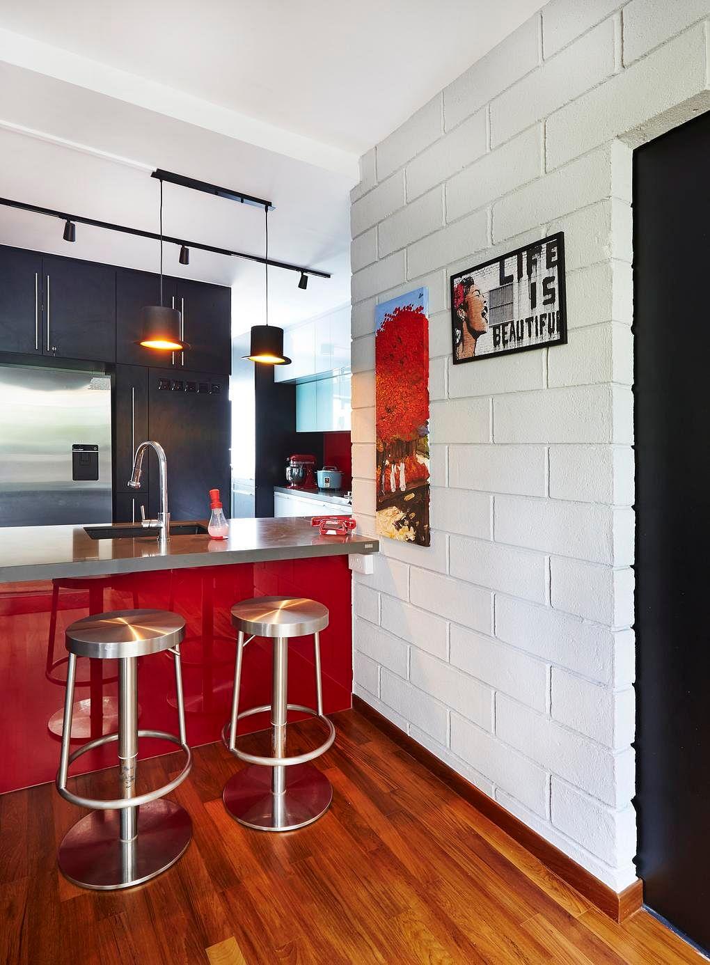 9 chic homes with white brick walls home u0026 decor singapore