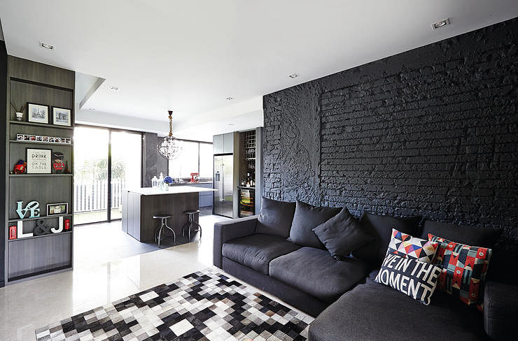 dark colours & 7 Singapore homes that use dark colours beautifully | Home \u0026 Decor ...