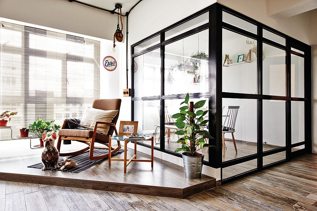 House tour eclectic and funky interiors in this three for Galangal living