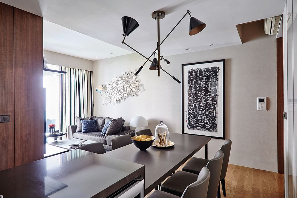 House tour luxurious and elegant two bedroom condo unit for Condo home decor
