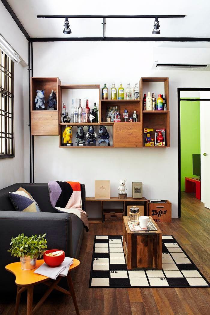 7 Ideas For Unique Built In Bookshelves