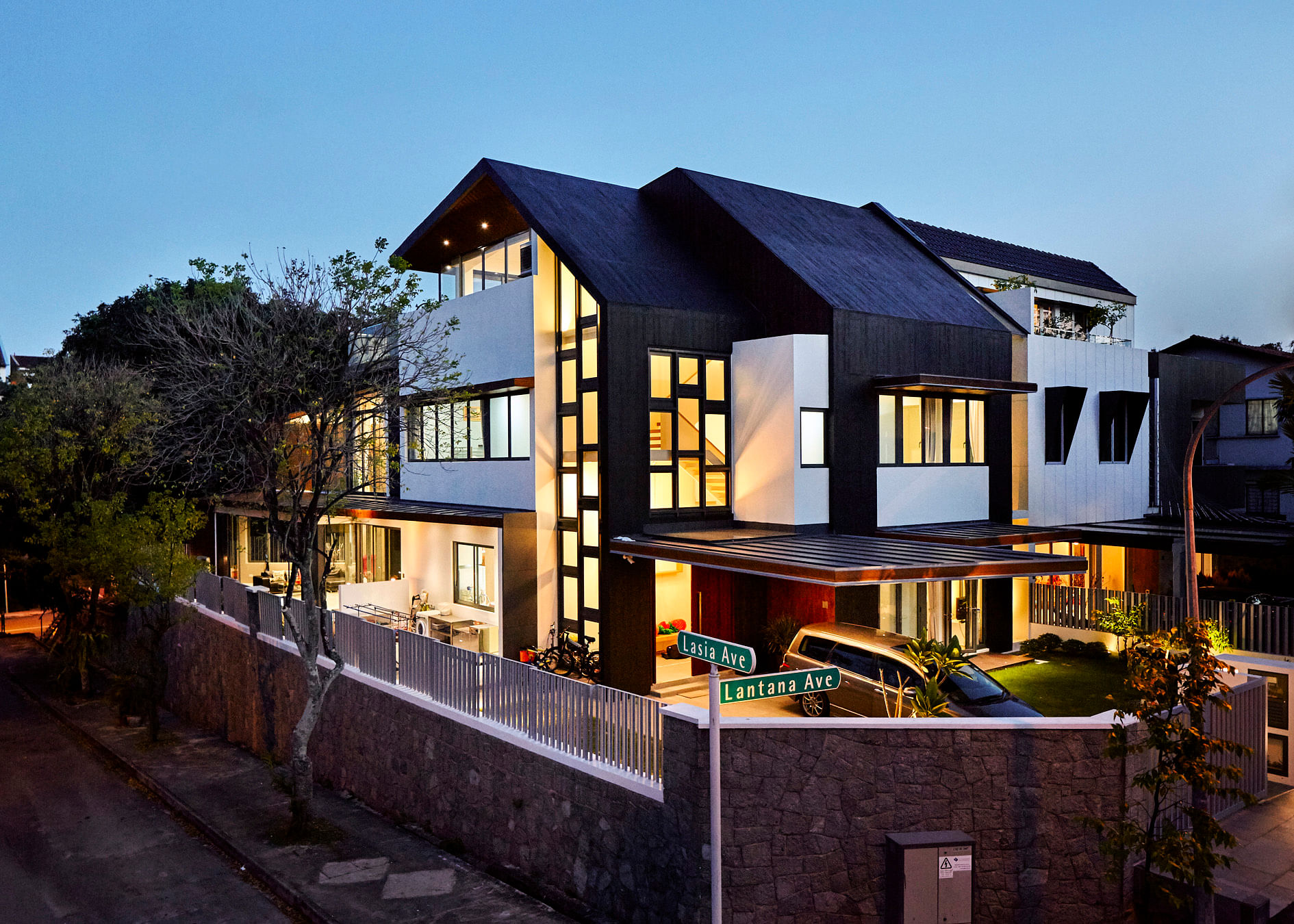 House tour architecturally designed two storey multi for Generation house