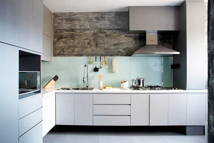 Design ideas for l shaped kitchens home decor singapore for Singapore kitchen design ideas