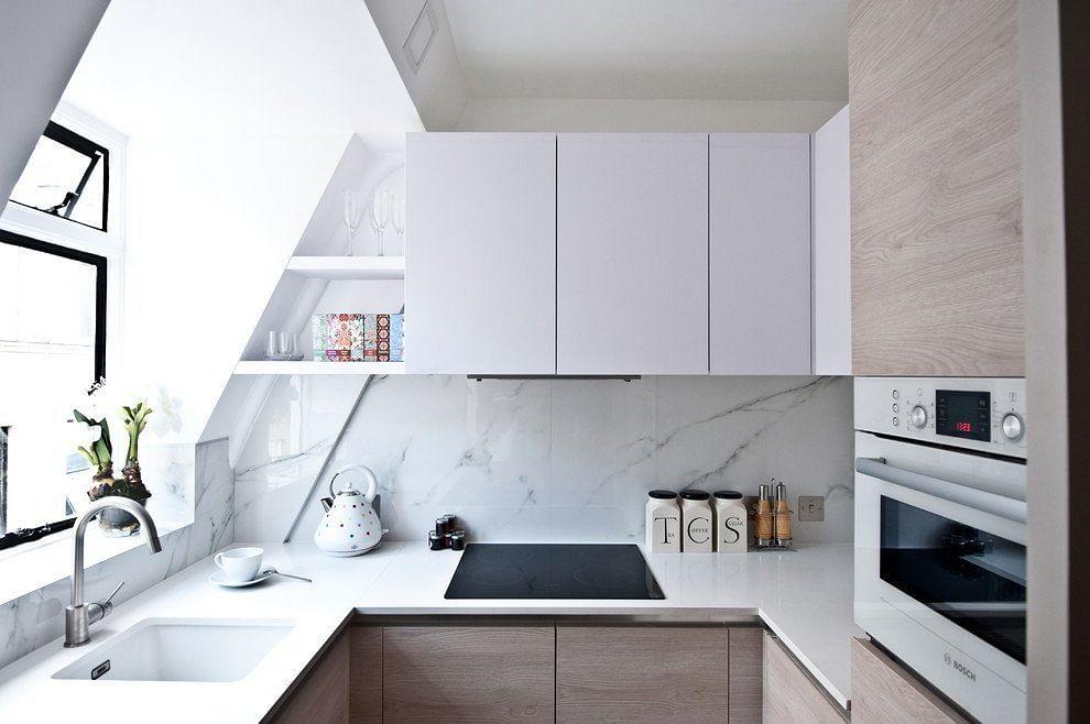 Stylish Allwhite Kitchen Designs Home Decor Singapore Classy All White Kitchen Designs