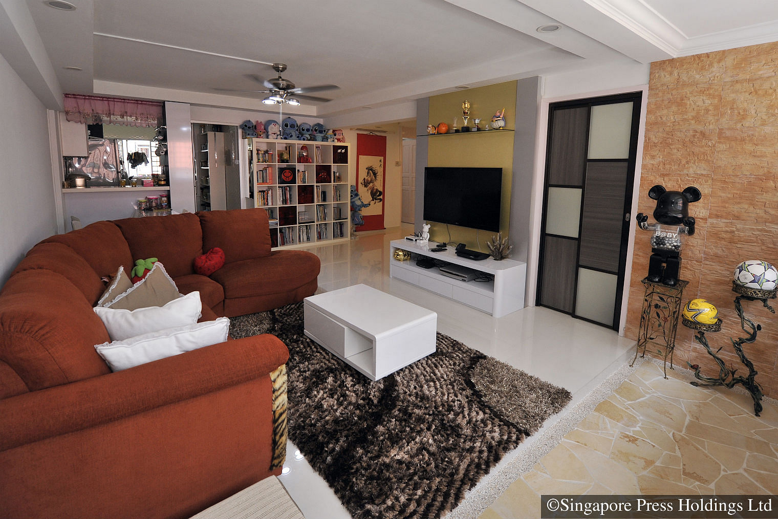 TV Host Lee Tengs HDB Home Is Filled With Shoes Toys And Clothes