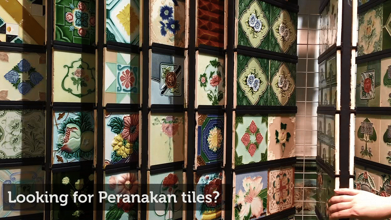 Buy Peranakan Tiles From The 70s At This Place Home Decor Singapore