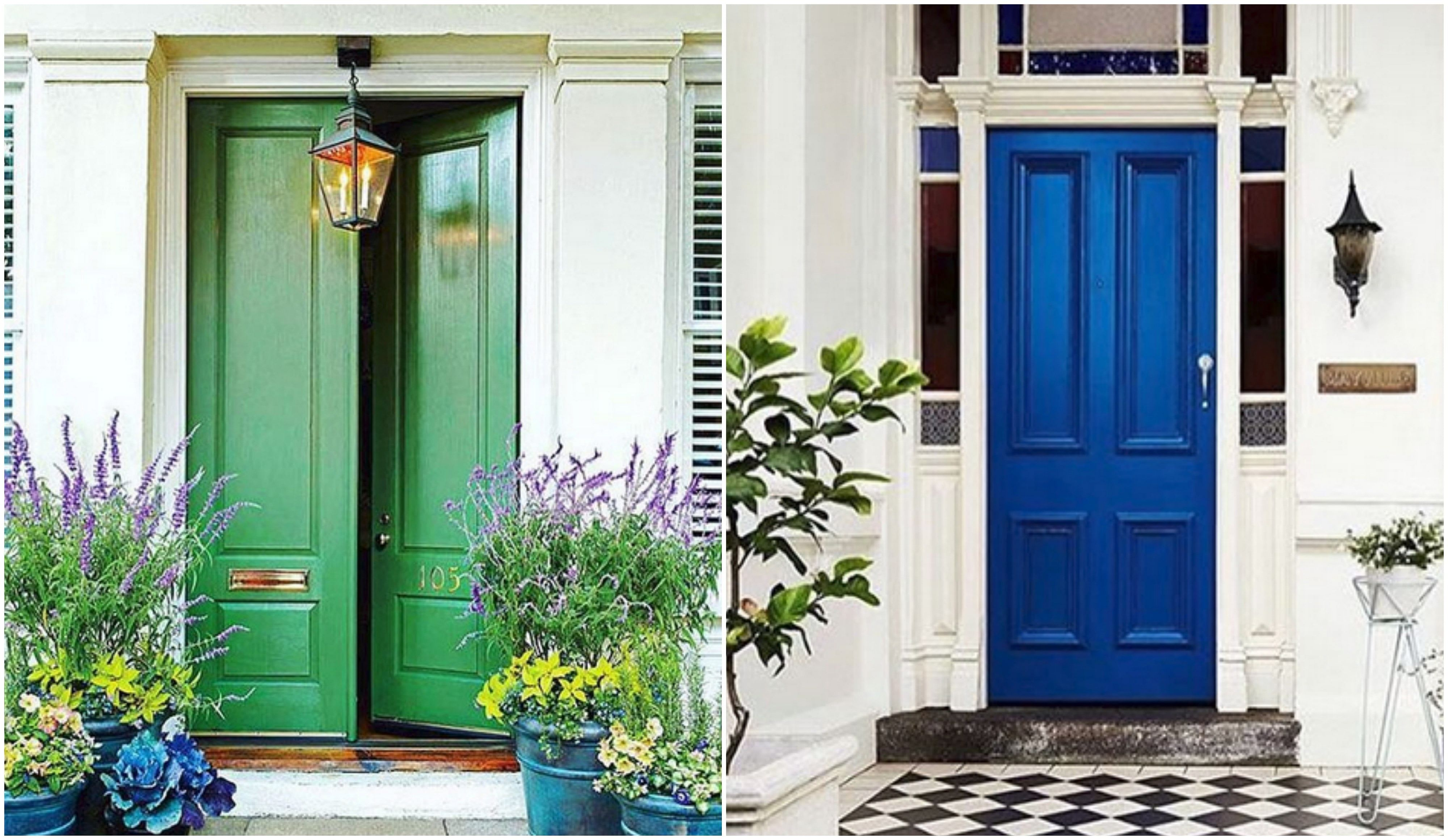 7 Cool Colours To Paint Your Front Door In Home Amp Decor