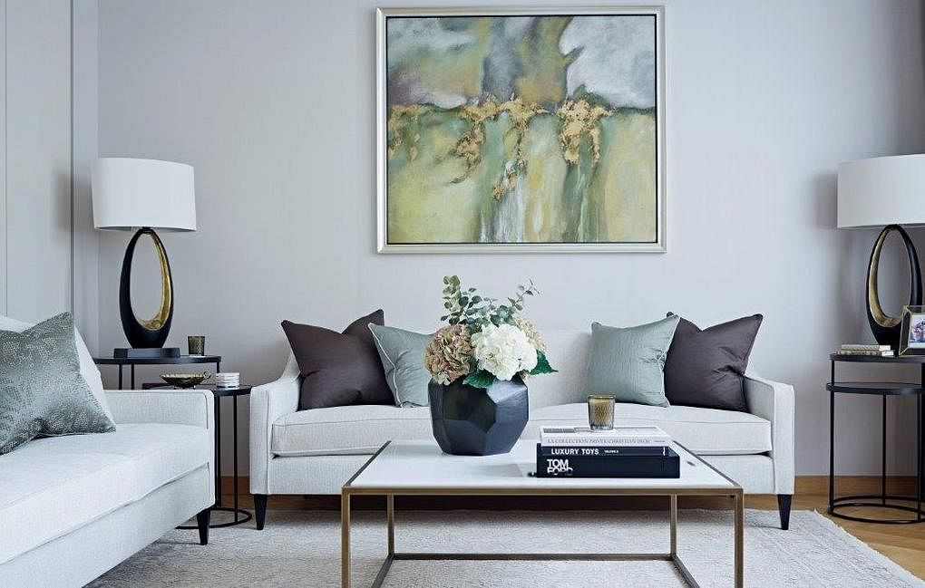 3 Modern Classic Apartments Designed With Soothing Elegant Colours Home Decor Singapore