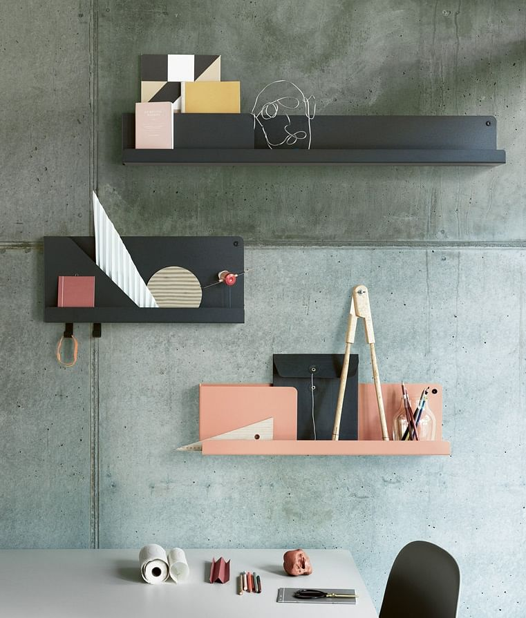 Show off your knick knacks on these cool Muuto shelves | Home ...