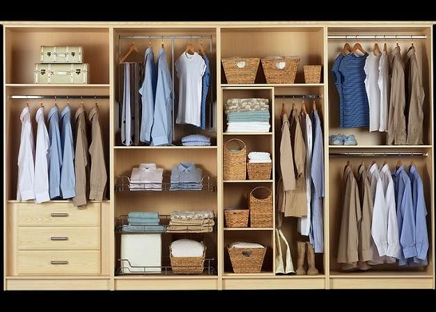 Wardrobe Organisation Tips