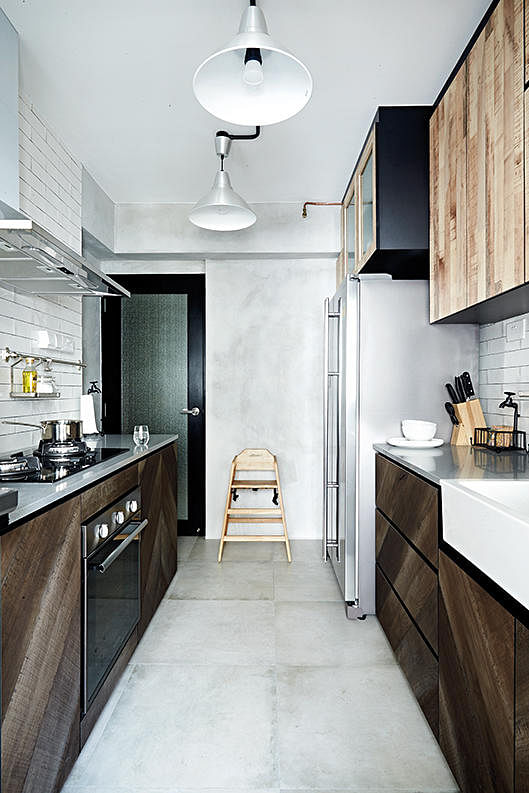 10 Trendy Kitchens Of Hdb Flat Homes Home Decor Singapore