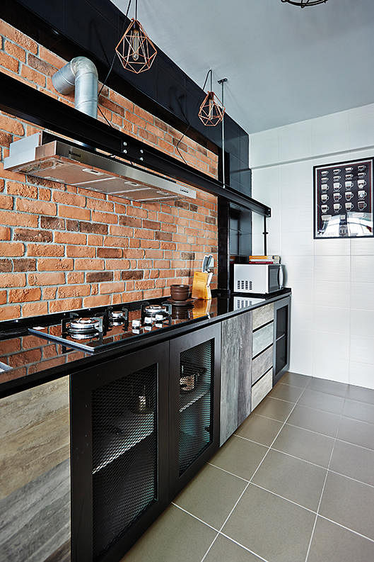 Hdb Home Design: 10 Trendy Kitchens Of HDB Flat Homes