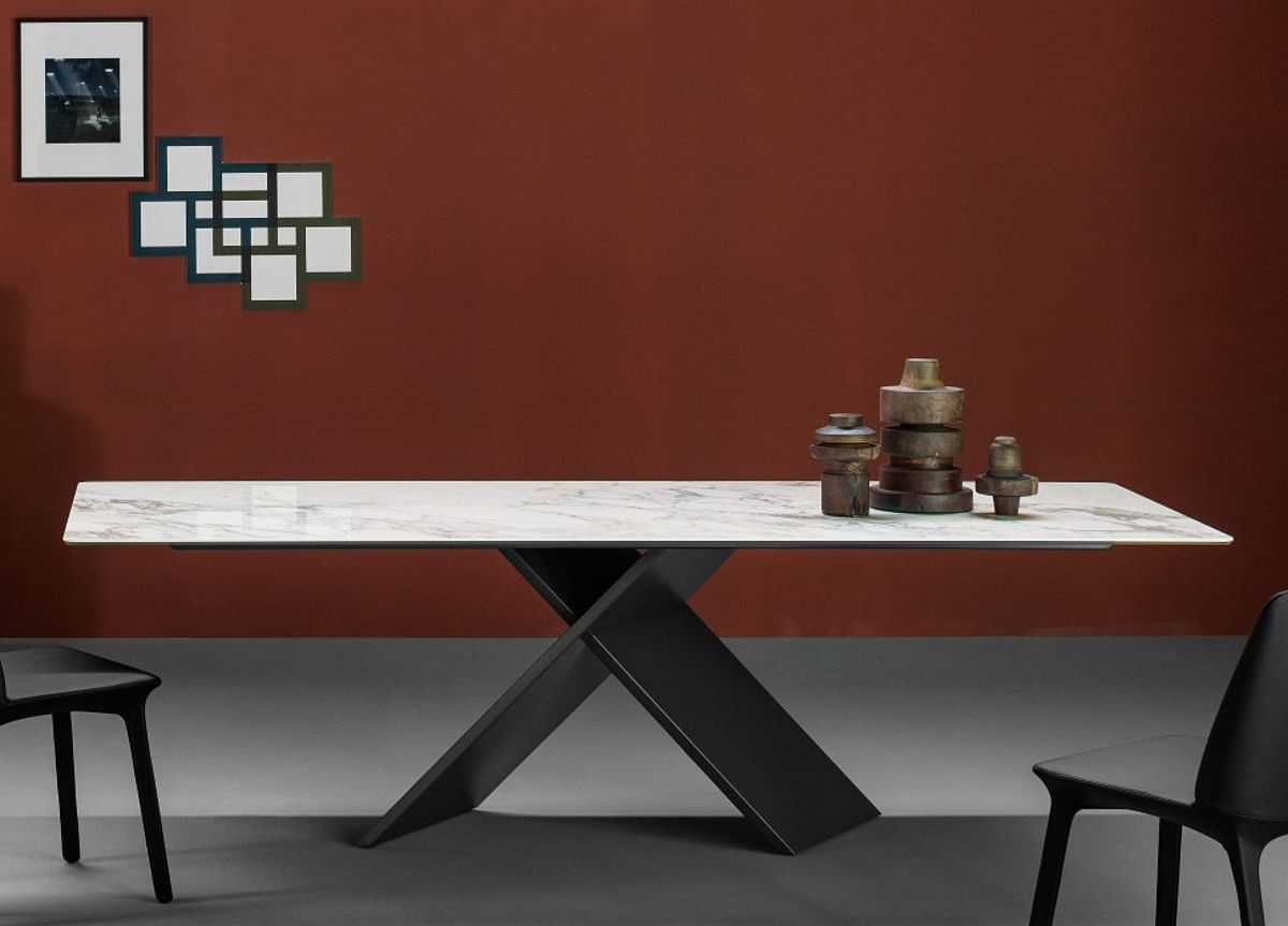 Flute Chair And Ax Dining Table An Impeccable Pairing