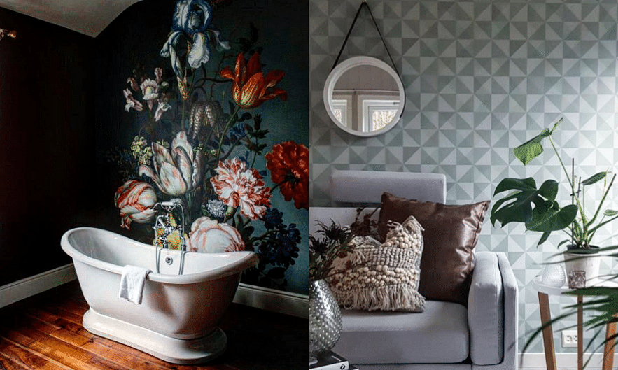 Stunning Wallpapers It 39 S An Easy Way To Decorate Your Home Home Decor Singapore