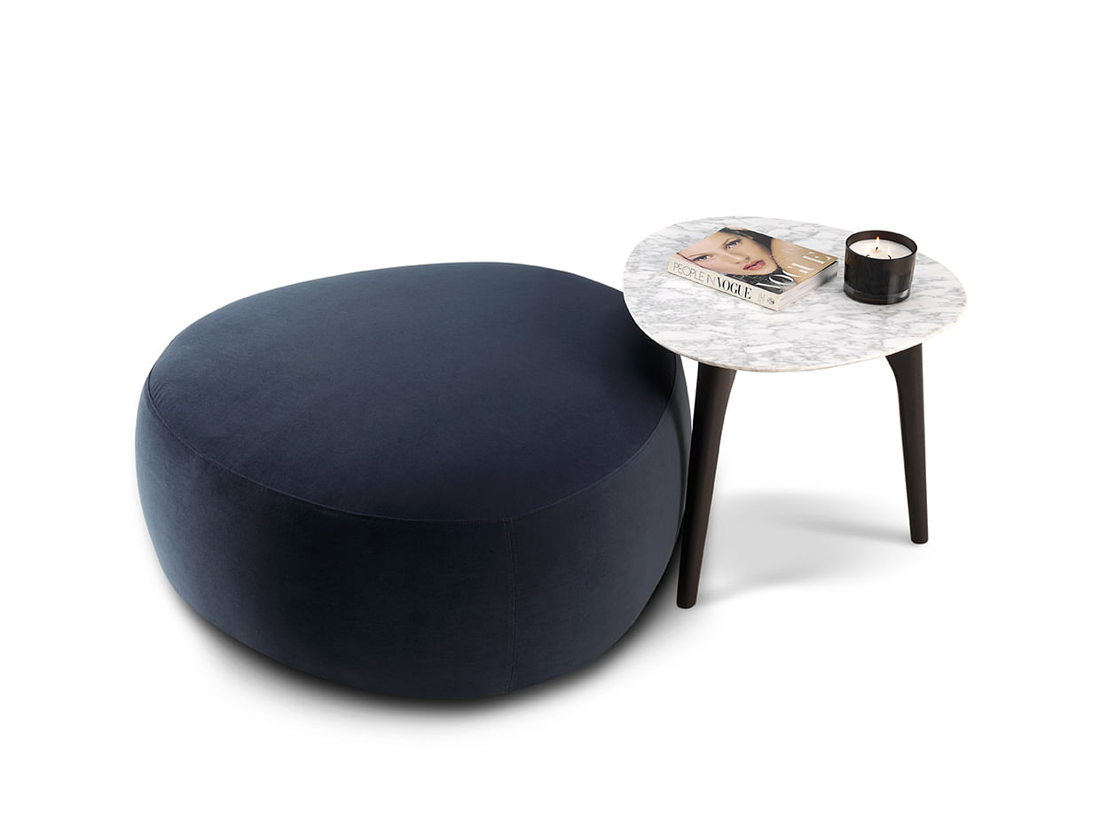 Sleek Coffee Table And Ottoman To Complement Any Interior