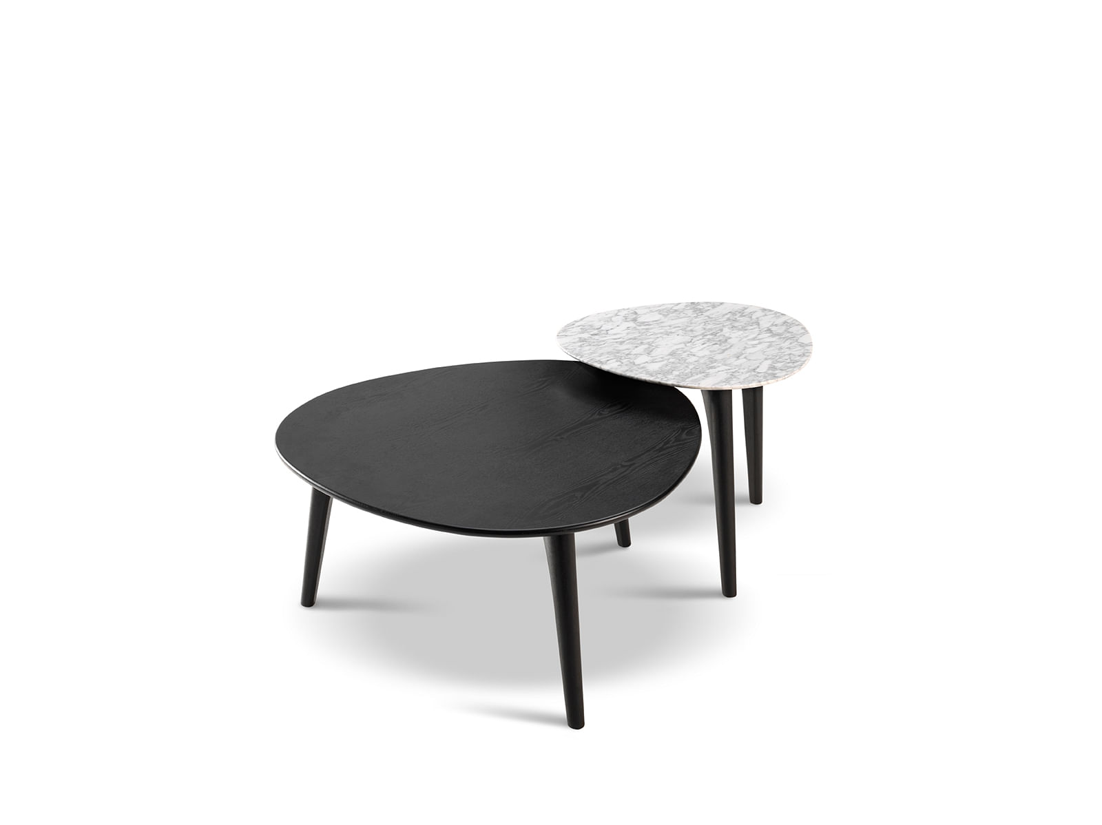 Delightful The Tableu0027s Sleek Curves Give It A Modern Contemporary Look. Shoppers Can  Also Select From A Premium Range Of Fabrics And Leathers For The Crescent  Ottoman, ...