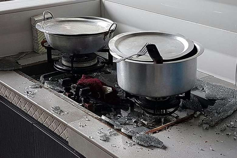 Turbo glass-top kitchen stove shatters in HDB flat | Home ...