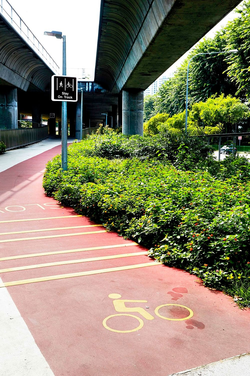 Hdb interior design in singapore 4 room flat at jurong east hwa li - For A Greener Way To Travel Ang Mo Kio Is Set To Become Singapore S First Cycling Town By 2018 An Extensive Network Of Walking And Cycling Paths