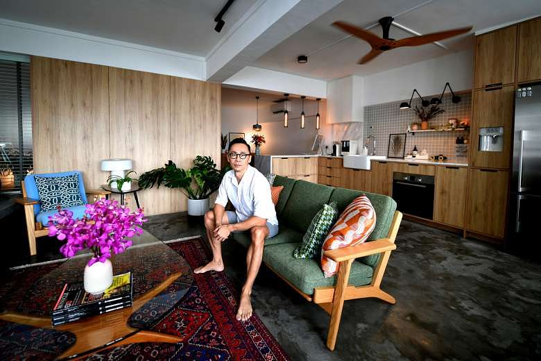 house tour stylish 818sqf hdb flat in marine parade with many space