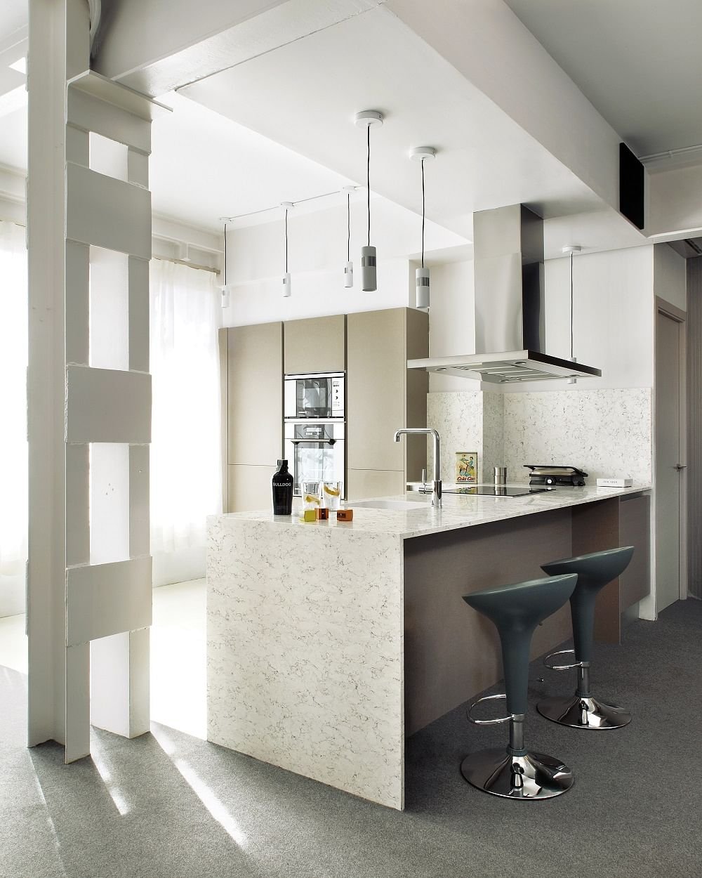 Renovation 4 Stone Surfacing Materials For Stylish Design Features At Home