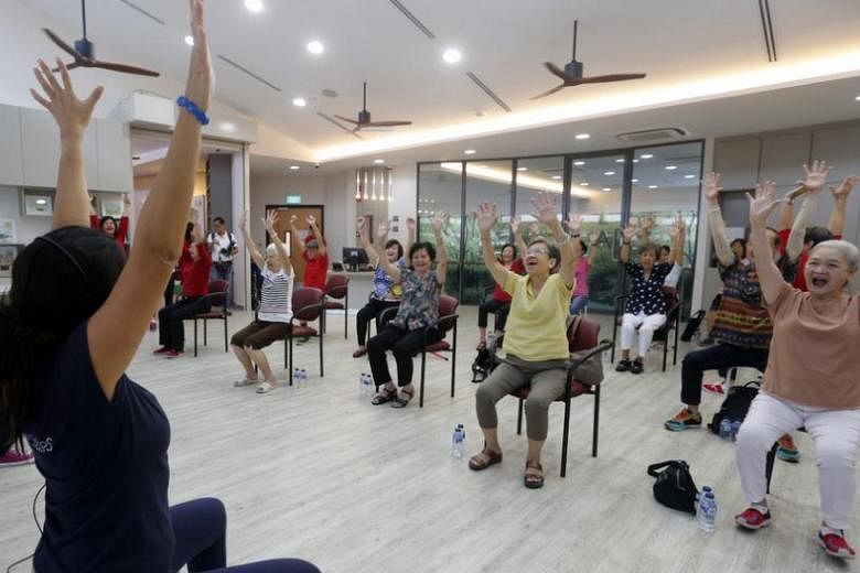 New Care Centre For The Elderly At Whampoa Community