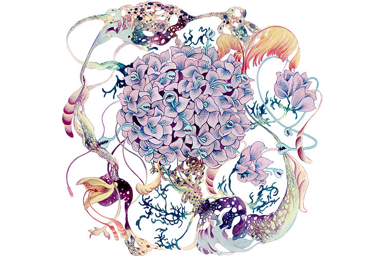 Flora Fauna Hybrids In This Cool Art Exhibition By Adeline Tan Aka