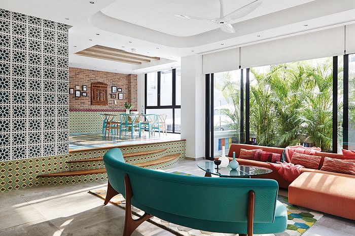 Lovely Bold Colours And Prints In This Peranakan Inspired Home