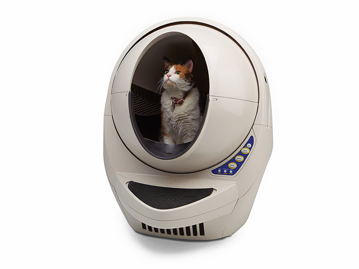 A Kitty Litter Machine That Self Cleans Yes Please