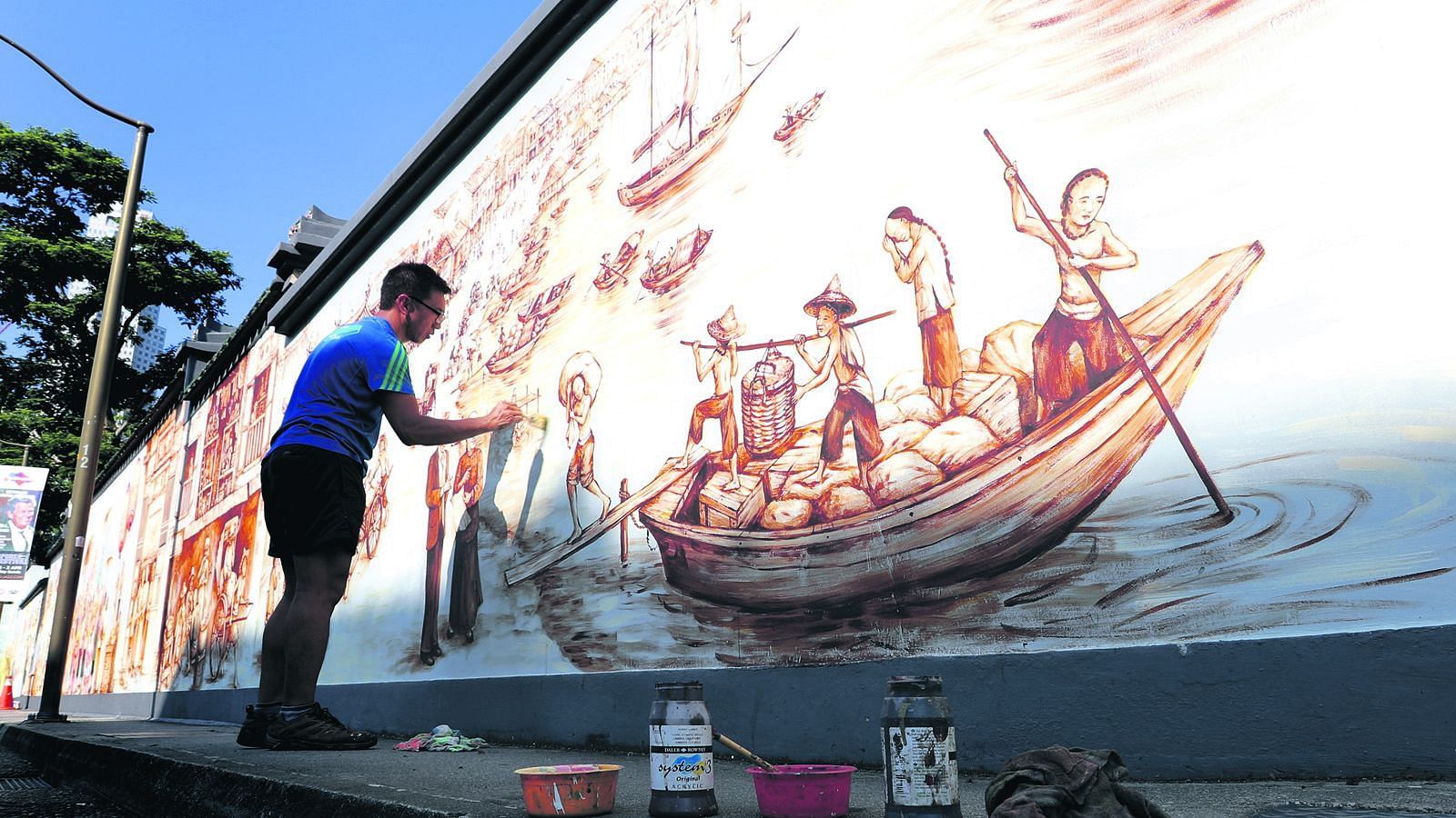 Yip Yew Chong Singapore Mural Artist Part 1 Of 4 Home Decor
