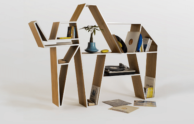 Shopping animal inspired bookshelves to add a quirky for Quirky shopping sites