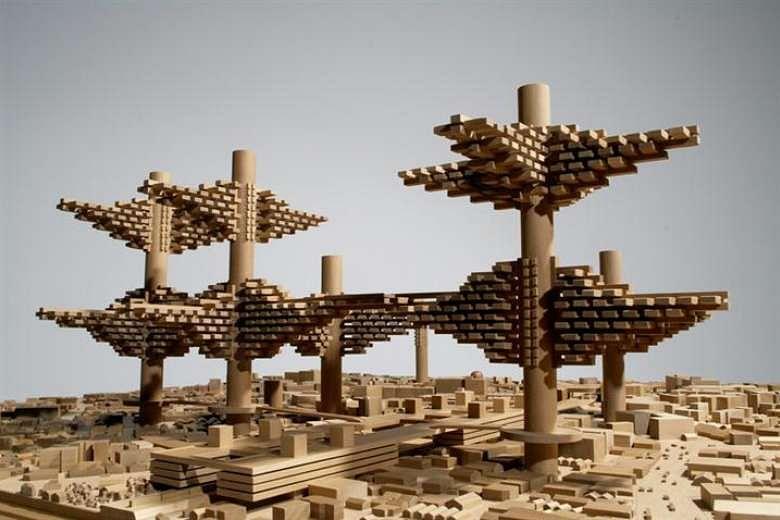 Architecture Exhibition Showcases Design Plans By Le