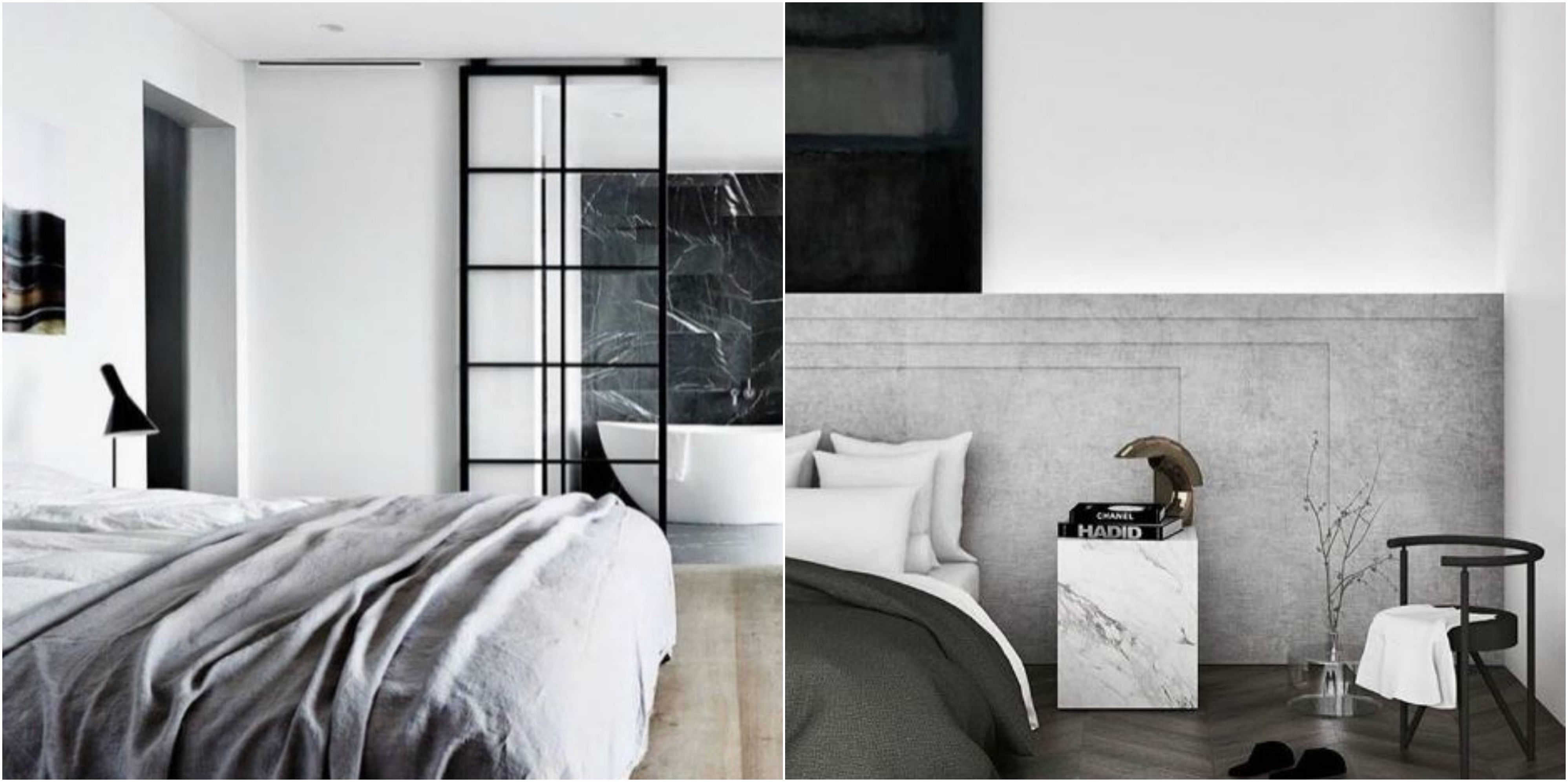 Bedroom design ideas modern and monochromatic for a for Monochromatic bedroom designs