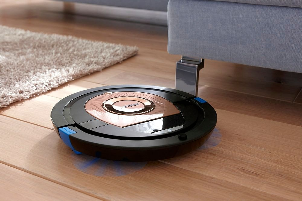 Shopping Philips Smartpro Compact Robot Vacuum Cleaner